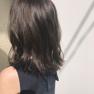 外国人風 ガーリー アンニュイ セミロング ヘアスタイルや髪型の写真・画像