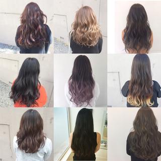 金髪 グラデーションカラー ナチュラル 大人かわいい ヘアスタイルや髪型の写真・画像