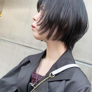 ショートボブ ベリーショート ウルフカット モード ヘアスタイルや髪型の写真・画像