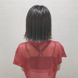 涼しげ 夏 色気 外ハネ ヘアスタイルや髪型の写真・画像