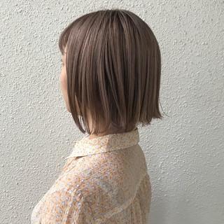 ナチュラル ショート ハイトーン 外国人風カラー ヘアスタイルや髪型の写真・画像