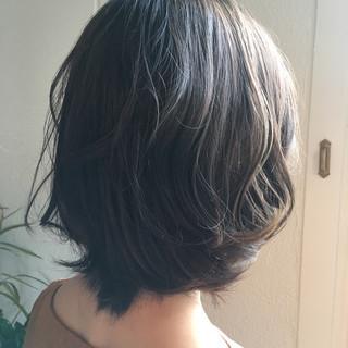 エレガント ブルージュ ウェーブ 上品 ヘアスタイルや髪型の写真・画像