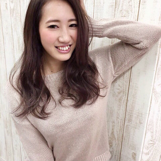 ゆるふわ 大人女子 艶髪 ロング ヘアスタイルや髪型の写真・画像