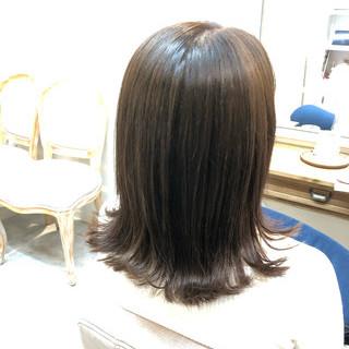 ナチュラル オフィス ミディアム デート ヘアスタイルや髪型の写真・画像