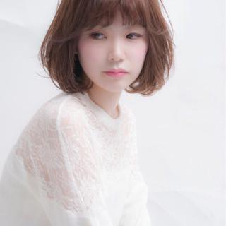 冬 ミディアム 色気 秋 ヘアスタイルや髪型の写真・画像