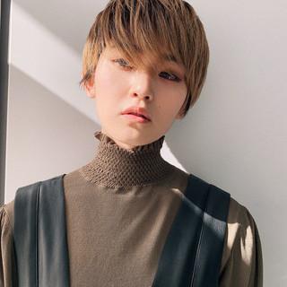 ハンサムショート 阿藤俊也 ショート ショートヘア ヘアスタイルや髪型の写真・画像