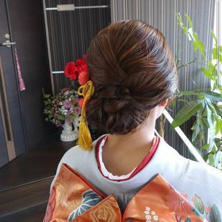成人式ヘアメイク着付け 結婚式 エレガント 結婚式ヘアアレンジ ヘアスタイルや髪型の写真・画像