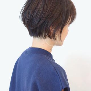 ショートボブ ショート 色気 ストリート ヘアスタイルや髪型の写真・画像