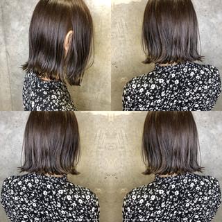 ナチュラル オフィス アディクシーカラー ベージュ ヘアスタイルや髪型の写真・画像