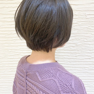 ショート ショートヘア ショートボブ 大人ショート ヘアスタイルや髪型の写真・画像