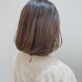 切りっぱなしボブ ボブ  ボブヘアー ヘアスタイルや髪型の写真・画像
