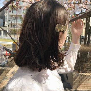 ヘアアレンジ 大人かわいい パーマ ハイライト ヘアスタイルや髪型の写真・画像