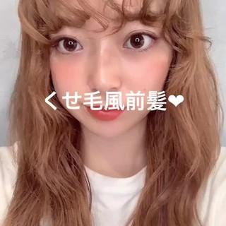ミディアム 簡単ヘアアレンジ ナチュラル 巻き動画 ヘアスタイルや髪型の写真・画像