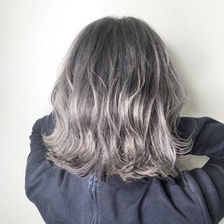 ヘアカラー 透明感 モード ヘアアレンジ ヘアスタイルや髪型の写真・画像