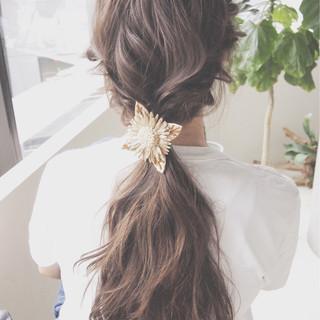 大人かわいい フレンチセピアアッシュ ショート セミロング ヘアスタイルや髪型の写真・画像