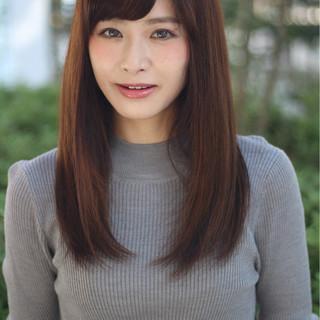 外国人風 ガーリー フェミニン 前髪あり ヘアスタイルや髪型の写真・画像