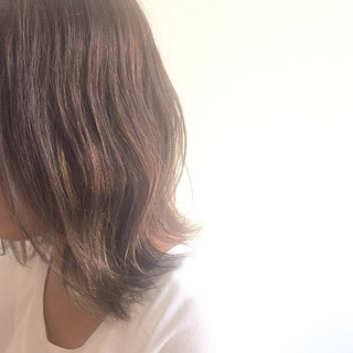 グラデーションカラー 外ハネ ストリート 暗髪 ヘアスタイルや髪型の写真・画像