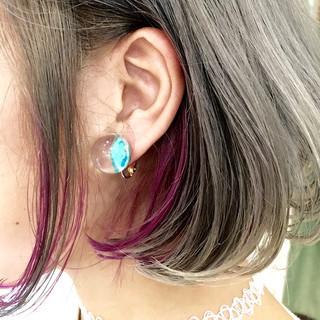 ストリート アッシュ 暗髪 外国人風 ヘアスタイルや髪型の写真・画像