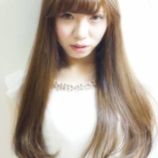 艶髪 モテ髪 コンサバ フェミニン ヘアスタイルや髪型の写真・画像