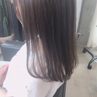 オフィス ハイライト ローライト イルミナカラー ヘアスタイルや髪型の写真・画像