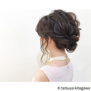 アンニュイ 外国人風 ヘアアレンジ フェミニン ヘアスタイルや髪型の写真・画像