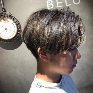 ショート メンズヘア メンズマッシュ ストリート ヘアスタイルや髪型の写真・画像
