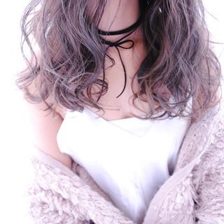 ガーリー ゆるふわ ロング 小顔 ヘアスタイルや髪型の写真・画像