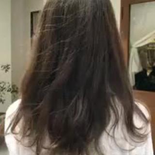 ロング ゆるふわ オフィス デート ヘアスタイルや髪型の写真・画像