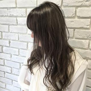 セミロング 外国人風カラー グラデーションカラー ストリート ヘアスタイルや髪型の写真・画像