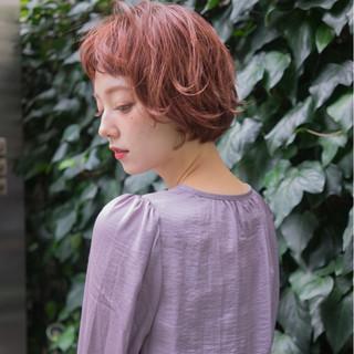ワイドバング 外国人風 ボブ ニュアンス ヘアスタイルや髪型の写真・画像