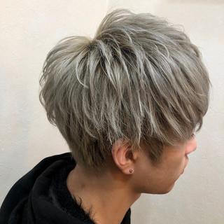 ブリーチ ブリーチカラー ストリート ショート ヘアスタイルや髪型の写真・画像