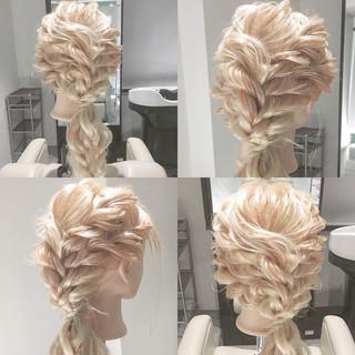 ヘアアレンジ 小顔 大人女子 エレガント ヘアスタイルや髪型の写真・画像