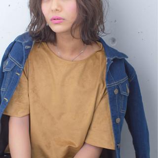 色気 ストリート グラデーションカラー 外国人風 ヘアスタイルや髪型の写真・画像