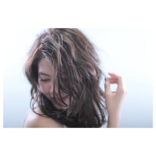 ガーリー ゆるふわ フェミニン グラデーションカラー ヘアスタイルや髪型の写真・画像