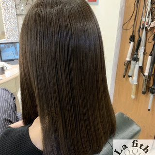 アディクシーカラー 透明感 ナチュラル マット ヘアスタイルや髪型の写真・画像