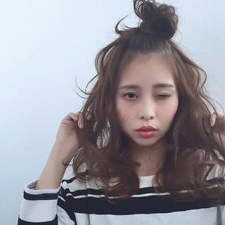 フェミニン セミロング ショート 大人かわいい ヘアスタイルや髪型の写真・画像