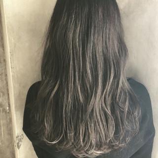 透明感 セミロング おフェロ ナチュラル ヘアスタイルや髪型の写真・画像