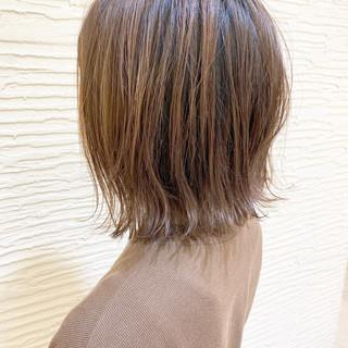 切りっぱなしボブ ボブ 大人かわいい ショートヘア ヘアスタイルや髪型の写真・画像