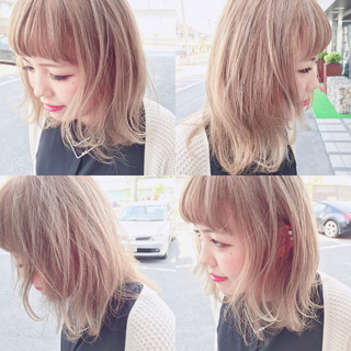 外国人風 前髪あり ピュア ストリート ヘアスタイルや髪型の写真・画像
