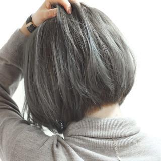 グラデーションカラー 外国人風 ストリート ハイライト ヘアスタイルや髪型の写真・画像