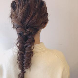 ヘアアレンジ デート ナチュラル 成人式 ヘアスタイルや髪型の写真・画像