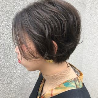 エアリー 似合わせ ショート 大人かわいい ヘアスタイルや髪型の写真・画像