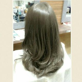 かっこいい セミロング コンサバ 大人女子 ヘアスタイルや髪型の写真・画像