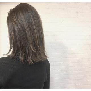 暗髪 ウェットヘア ナチュラル 色気 ヘアスタイルや髪型の写真・画像