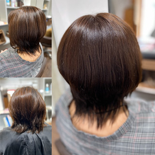 フェミニンウルフ ナチュラルウルフ ウルフ女子 フェミニン ヘアスタイルや髪型の写真・画像