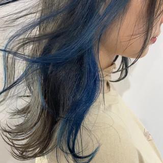 韓国ヘア フェミニン アッシュ グレージュ ヘアスタイルや髪型の写真・画像