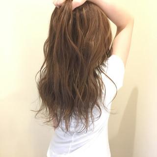 艶髪 ロング モテ髪 フェミニン ヘアスタイルや髪型の写真・画像