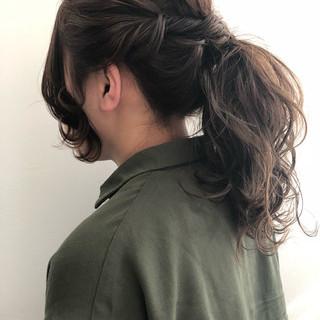 ロング ヘアアレンジ 大人女子 ショート ヘアスタイルや髪型の写真・画像