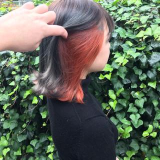 デート ストリート ボブ 成人式 ヘアスタイルや髪型の写真・画像