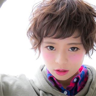大人かわいい 外国人風 ストリート パーマ ヘアスタイルや髪型の写真・画像